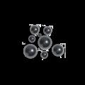 KING Microschroeven Technische kogels RVS 420 - 2,5 mm - 25 stuks
