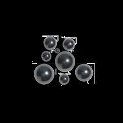 Technische kogels RVS 420 - 2,5 mm - 25 stuks