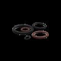 KING Microschroeven O-ringen VITON (FPM/FKM) - 9 x 1 mm - 4 stuks