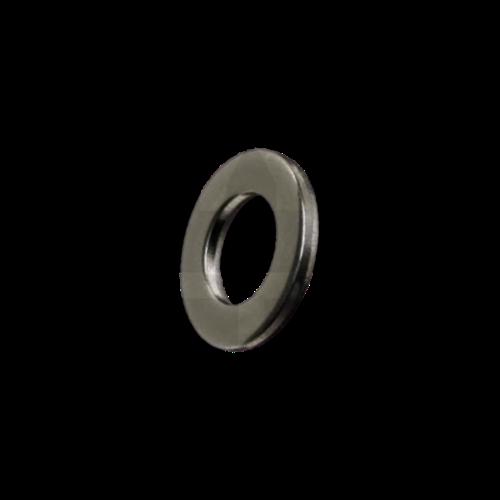 KING Microschroeven Sluitring M1,2 - DIN 125B - Staal GEDRAAID -  25 stuks