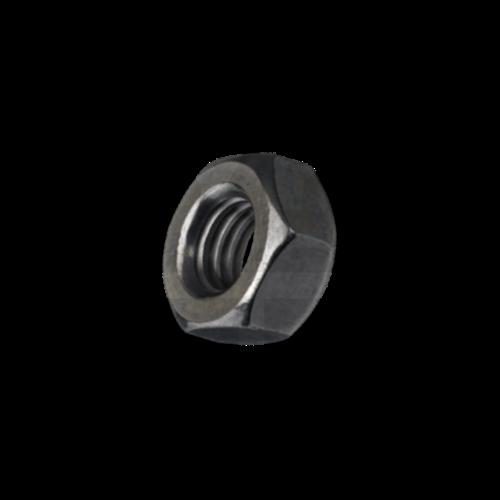 KING Microschroeven Zeskantmoer M1,6 - DIN 934 - Staal - 25 stuks - GEDRAAID