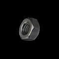 KING Microschroeven Zeskantmoer M1,2 - DIN 934 - Staal - 25 stuks - GEDRAAID