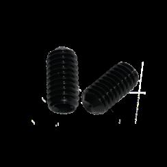 Stelschroef - DIN 916 45H Staal - M 4 x 12 - 25 stuks