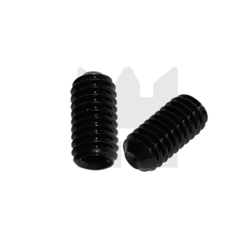 KING Microschroeven Stelschroef - DIN 916 45H Staal - M 2 x 4 - 25 stuks