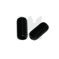 Stelschroef - DIN 916 45H Staal - M 2,5 x 4 - 25 stuks