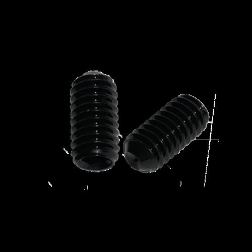 KING Microschroeven Stelschroef - DIN 916 45H Staal - M 3 x 12 - 25 stuks