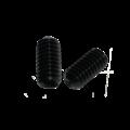 KING Microschroeven Stelschroef - DIN 916 45H Staal - M 4 x 12 - 25 stuks