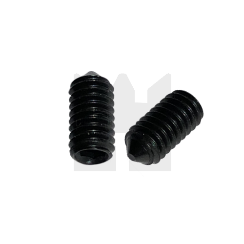 KING Microschroeven Stelschroef - DIN 914 45H Staal - M 2,5 x 4 - 25 stuks