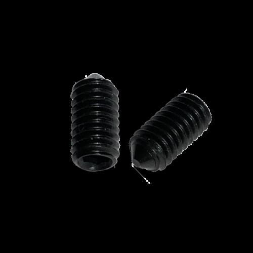 KING Microschroeven Stelschroef - DIN 914 45H Staal - M 4 x 6 - 25 stuks