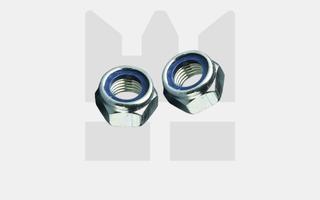 Borgmoeren DIN 985 - RVS