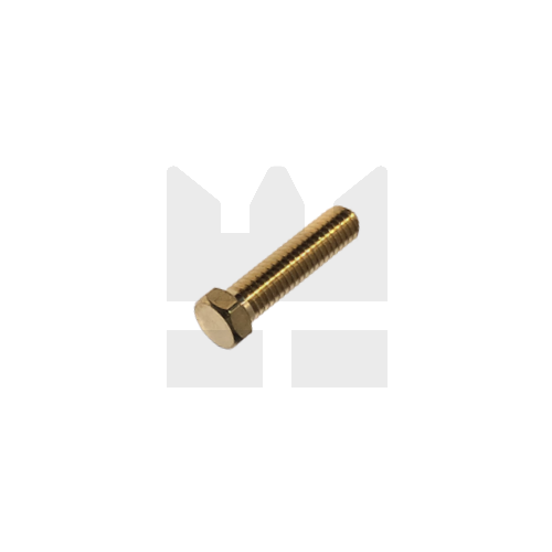 KING Microschroeven Modelbouw bout M2 x 6 - Lage kop - Messing - 10 stuks