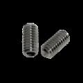 KING Microschroeven AS140 - Binnenzeskant-Inbus - Stelschroef - DIN 916 - RVS A2