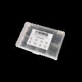 KING Microschroeven AS301 - Zeskantmoer DIN 934 Messing + Sluitring DIN 125 Messing