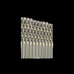 Metaalborenset - 1,1 t/m 2,0 mm - HSS Geslepen