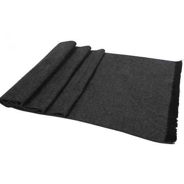 Heren zijden sjaal, 100% geborsteld zijde