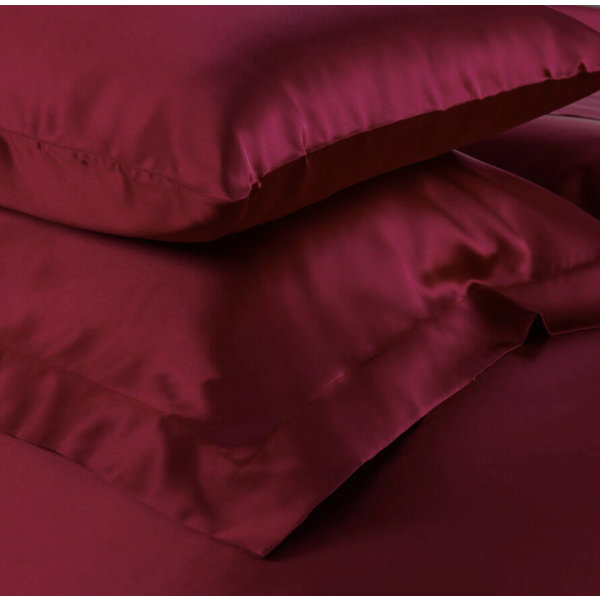 Silk pillowcase 19momme wine red