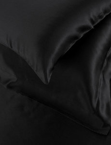 Silk pillowcase 19mm black