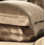 Funda de almohada de seda 19momme cappuccino