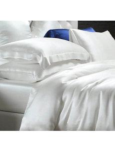Silk duvet cover 22mm ivory white
