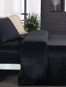Funda nórdica de seda 19mm negro