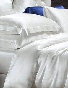 Housse de couette en soie 19mm blanc ivoire