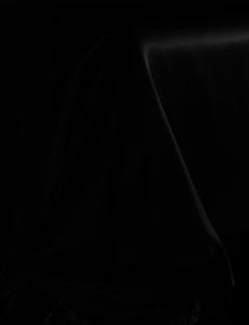 Silk flat sheet 22mm black