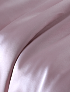 Silk flat sheet 19mm vintage rose