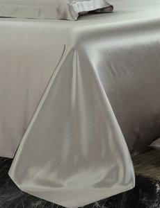Zijden laken 19mm parelgrijs