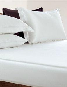 Drap housse en soie 19mm blanc ivoire