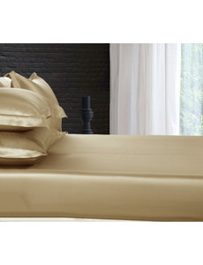 Silk fitted sheet 19mm cappuccino