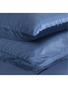 Silk pillowcase 22mm ocean blue
