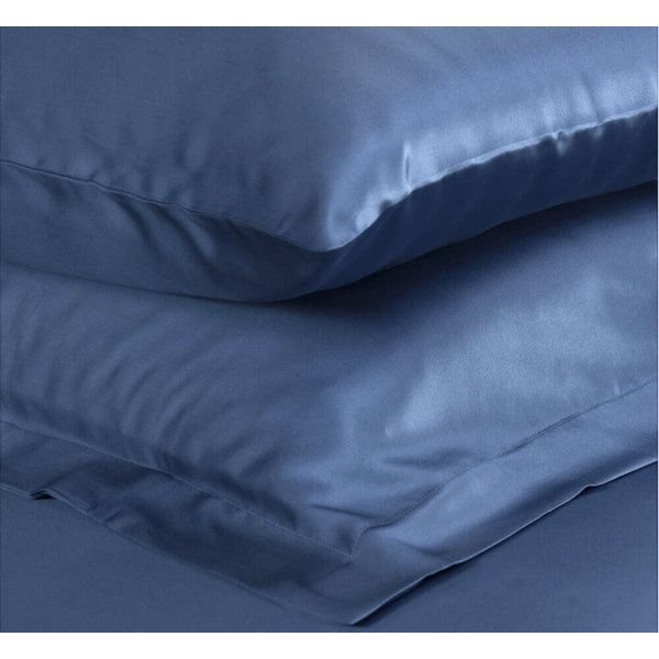 Silk pillowcase 22momme ocean blue