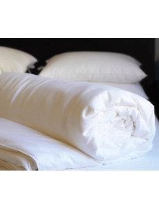 Mid-season silk duvet with cotton cover