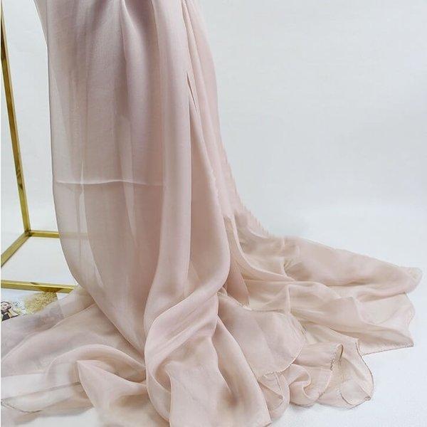 Zijden sjaal van 100% zijde