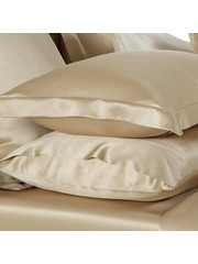 Silk pillowcase 22mm Tan
