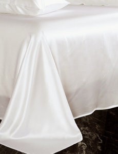 Drap en soie 19mm ivoire