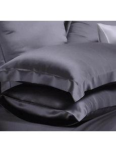 Silk pillowcase 22mm anthracite grey