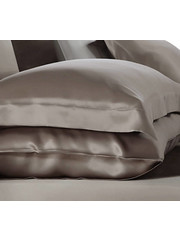 Silk pillowcase 19mm chateau brown