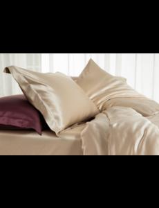 Silk pillowcase 22mm Champagne