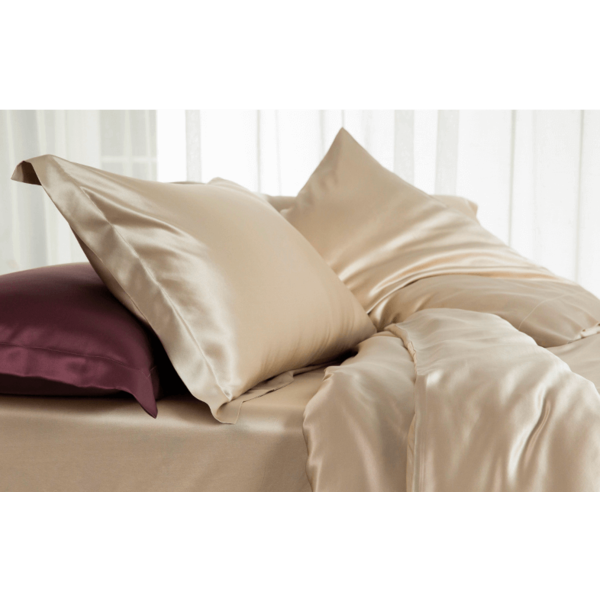 Silk pillowcase 22momme Champagne