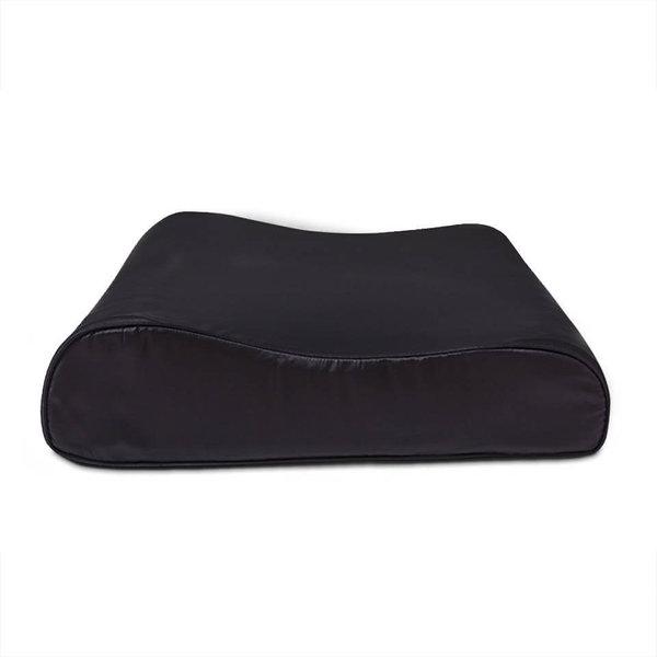 Funda de almohada de seda de 19 mm para la almohada ergonómica