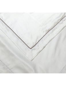 Silk duvet cover Elegance 19mm ivory white