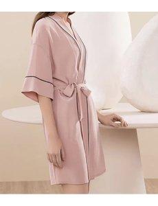 Women's silk dressing gown