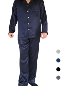 Men's silk pajama set