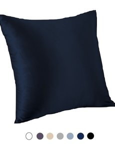 Funda de almohada de seda para cojín 22mm