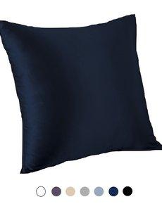 Taie d'oreiller en soie pour coussin 22mm