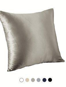 Funda de almohada de seda para cojín 19mm