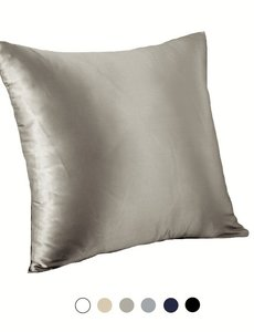 Silk Pillowcase for throw pillow 19mm