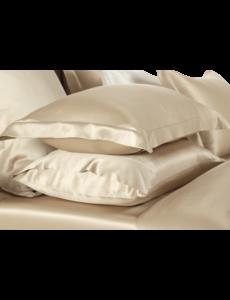 Silk pillowcase 19mm Champagne