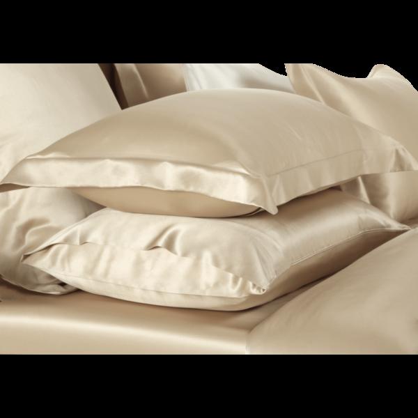 Silk pillowcase 19momme Champagne